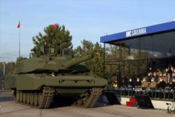 Турция представила гибридный основной боевой танк