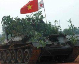 Т-34, Вьетнам, танки,