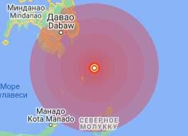 Филиппины, землетрясение,