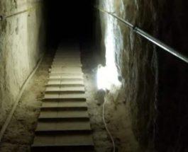 Хеопс, пирамида, туннель,