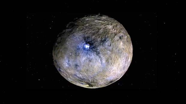 Церера, пояс астероидов,
