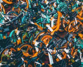 велосипеды, Китай, кладбище велосипедов,