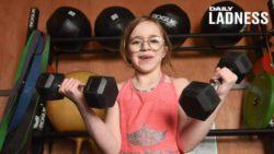 10-летняя тяжелоатлетка собирается открыть свой тренажерный зал