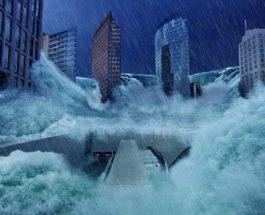 затопление, потоп, наводнение,