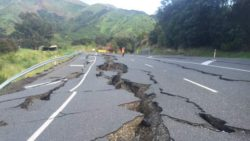 Сильное землетрясение потрясло Новую Зеландию