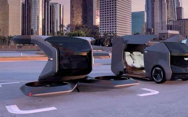летающий автомобиль, General Motors,