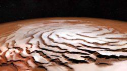 Ось планеты Марс не стабильна и из-за этого происходят частые ледниковые периоды