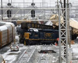 поезд, США, вагоны,