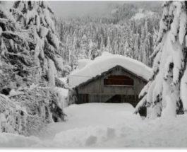 снег, Италия,