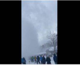 снежный дьявол, Вермонт,