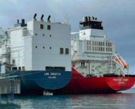 судно, Хорватия, газ, США,