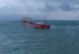 судно, затонуло,