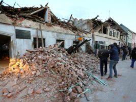 хорватия землетрясение