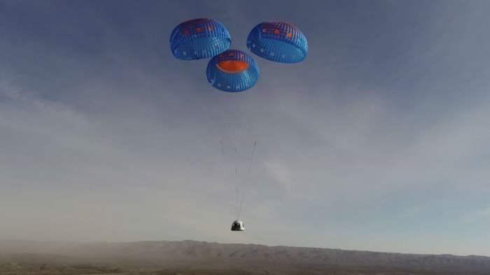 Blue Origin, капсула, запуск,