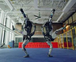 Boston Dynamics, роботы, танец,