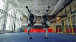 Boston Dynamics, роботы, танец,