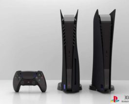 Custom Black PS5, PS5, черная,