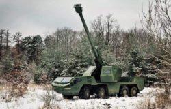 Excalibur Army представляет новую 155-мм колесную самоходную гаубицу