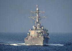 Эсминец ВМС США вернулся в Черное море впервые с прошлого года.
