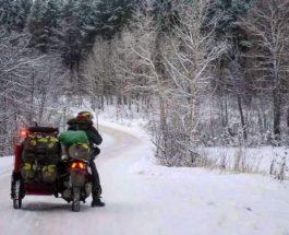 Honda SH300i , скутер, мотороллер, с коляской, кругосветное путешествие,