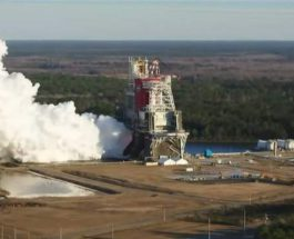 NASA, SLS, тест,