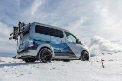 Электрический отдых зимой — Nissan представляет концепт e-NV200 Winter Camper