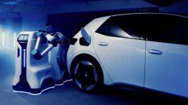 Volkswagen, зарядные станции,