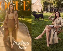Анджелина Джоли, Vogue,