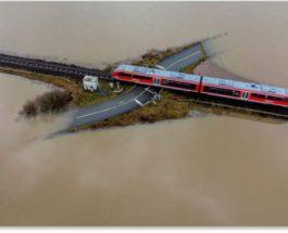 Германия, наводнение, дожди,
