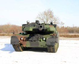 Германия, танк, Leopard-2, активная защита,