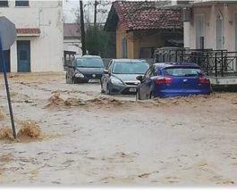 Греция, наводнения,