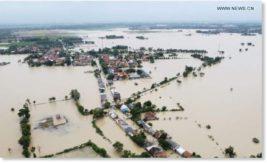 Индонезия, Ява, наводнение,