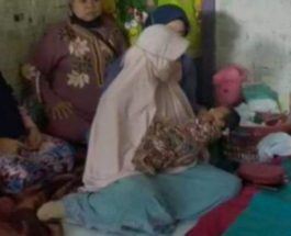Индонезия, беременность, порыв ветра,