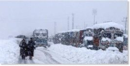 Кашмир, снег,