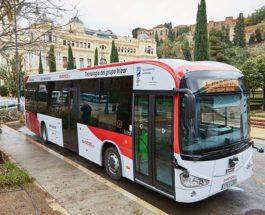 Малага, Испания, автобус,
