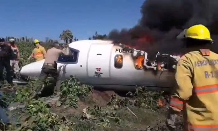 Мехико, самолет, катастрофа,