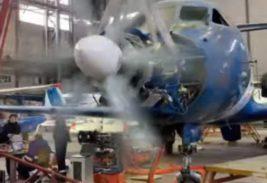 Новосибирск, самолет, испытания,