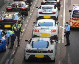 Полиция, Гонконг, суперкары, полиция,
