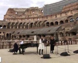 Рим, Колизей, концерт,