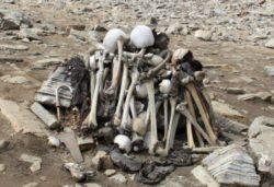 Анализ человеческих скелетов, найденных у гималайского озера, шокировал ученых