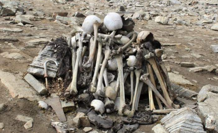 Роопкунд, озеро, скелеты,
