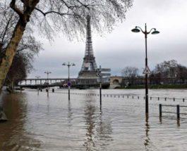 Сена, Париж, наводнение,