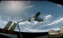 Сигнус, МКС, корабль, стыковка,