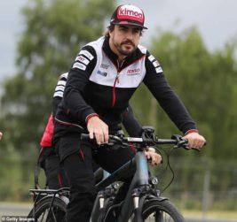 Фернандо Алонсо, сбила машина, Alpine F1, Формула 1,