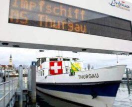 Швейцария, корабль, вакцинация, корабль,