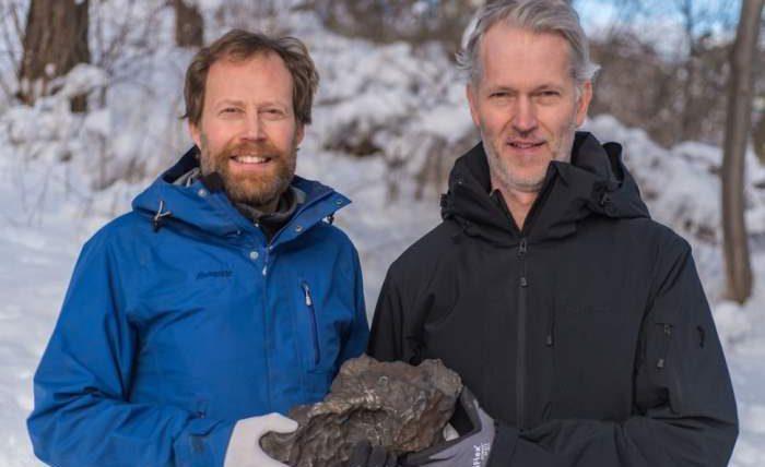 Швеция, метеорит,