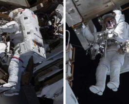 камеры, МКС, установка, космонавты,