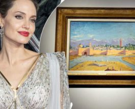 картина, Анджелина Джоли, Уинстон Черчилль,