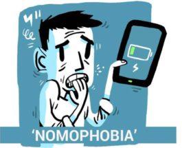 номофобия, смартфоны, батарея,