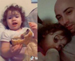 отец, дочь, призрак, кровать,